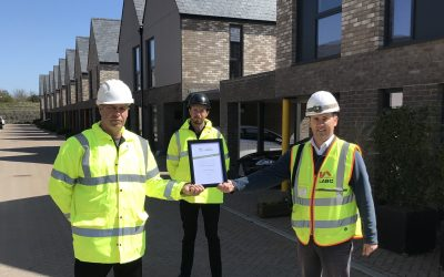 The Bricks Site Recognition Award Presentation by LABC Warranty